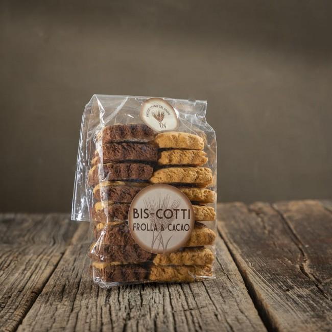 Bis-Cotti frolla e cacao - Antico Forno Tre Spighe
