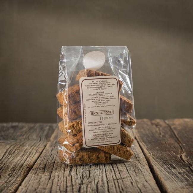 Biscotti Integrali al mirtillo leggeri - Antico Forno Tre Spighe