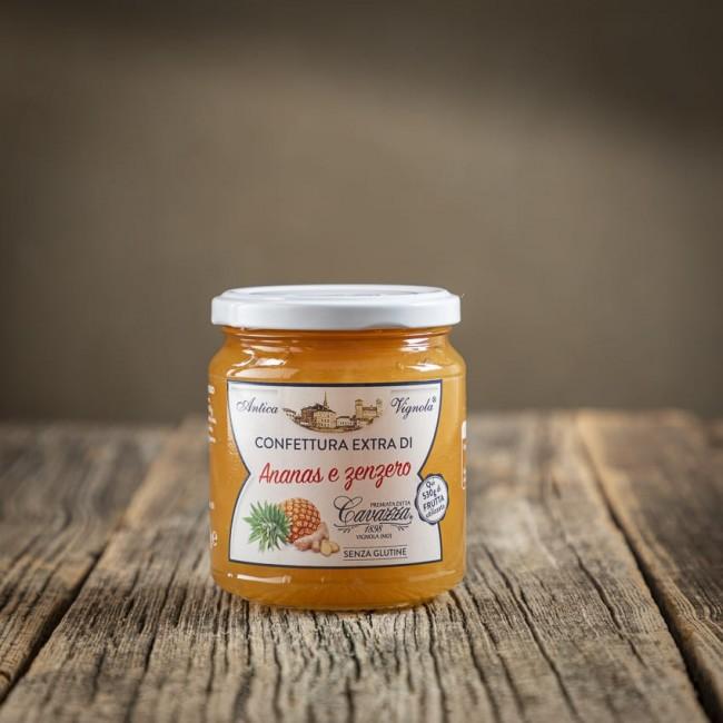 Confettura Extra di Ananas e Zenzero - Cavazza 1898