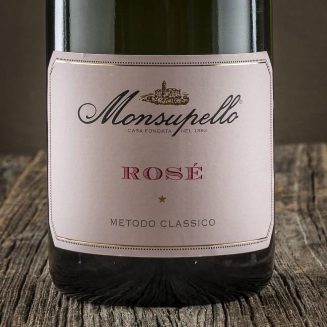 Spumante Metodo Classico Rosé Brut - Cantina Monsupello