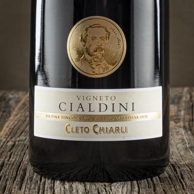 """Lambrusco frizzante Grasparossa secco """"Vigneto Cialdini"""" D.O.C. - Cantina Cleto Chiarli"""