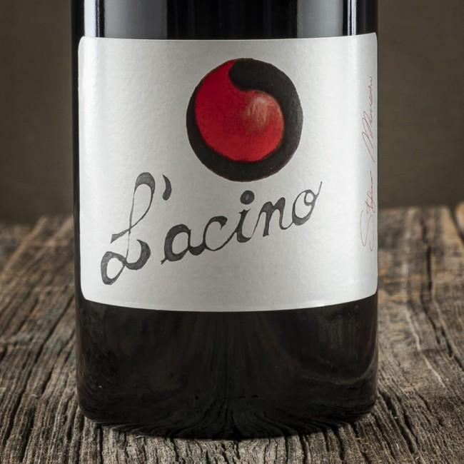 """""""L'Acino"""" Lambrusco frizzante Grasparossa secco D.O.P. - Cantina Corte Manzini"""