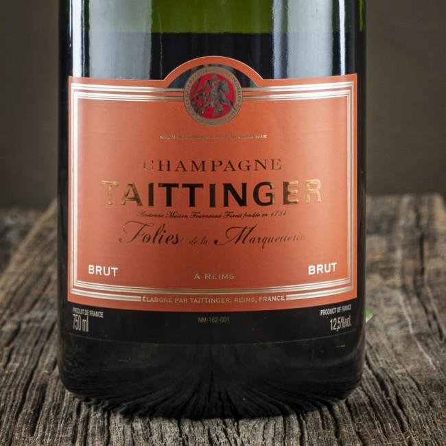 """Champagne Brut """"Folies de la Marquetterie"""" - Maison Taittinger"""