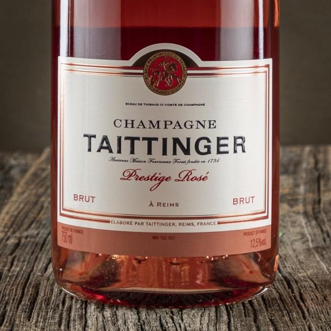 "Champagne Rosé Brut ""Prestige"" - Maison Taittinger"