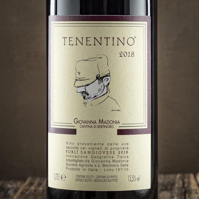 """Sangiovese I.G.T. """"Tenentino"""" -  Cantina Giovanna Madonia"""
