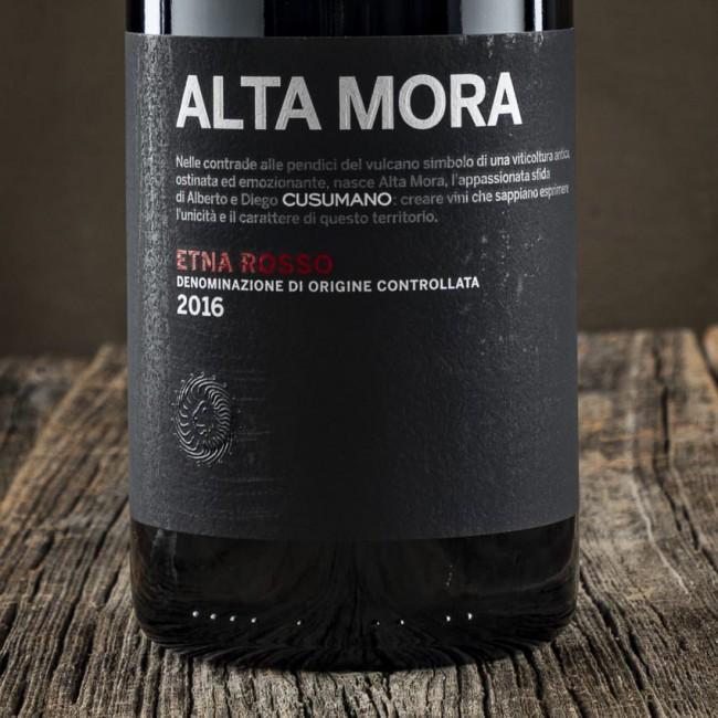 Etna Rosso Alta Mora D.O.C. - Cusumano