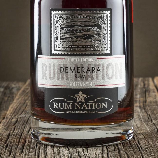 Rum Demerara Solera N. 14 - Rum Nation