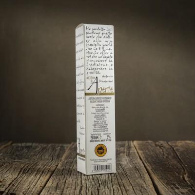 Aceto balsamico di Modena I.G.P. - Etichetta bianca - Acetaia Le Aperte