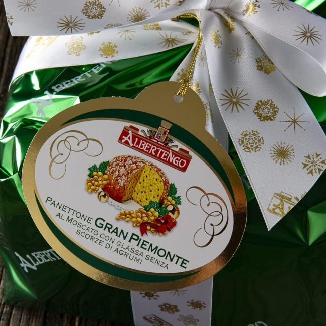Panettone Gran Piemonte al Moscato - Albertengo