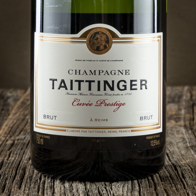 "Champagne Brut ""Cuvée Prestige"" - Maison Taittinger"
