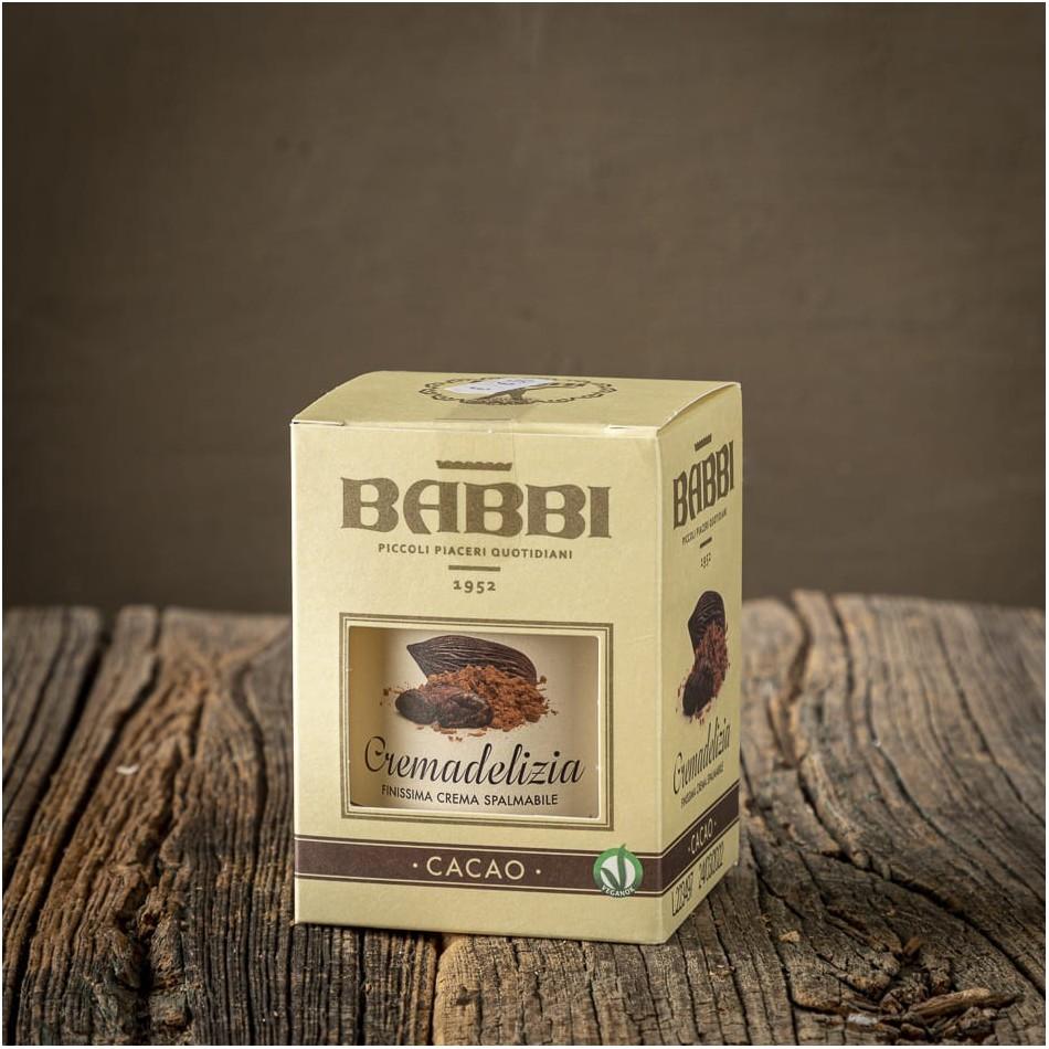 Cremadelizia al Cacao - Babbi