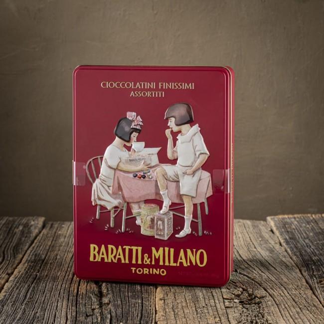 Cioccolatini Assortiti in Latta - Baratti & Milano