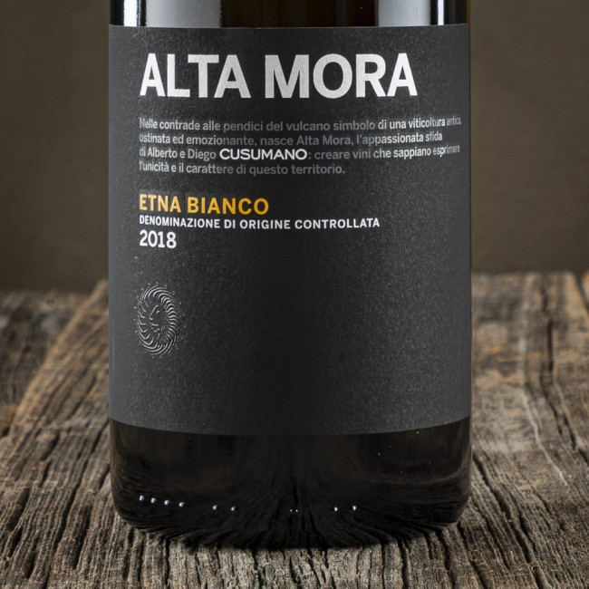 Etna Bianco Alta Mora D.O.C. - Cusumano