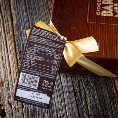 Cioccolatini Assortiti in scrigno di legno - Baratti & Milano