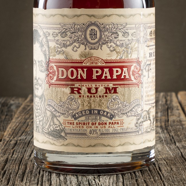Rum Don Papa - The Bleeding Heart Company