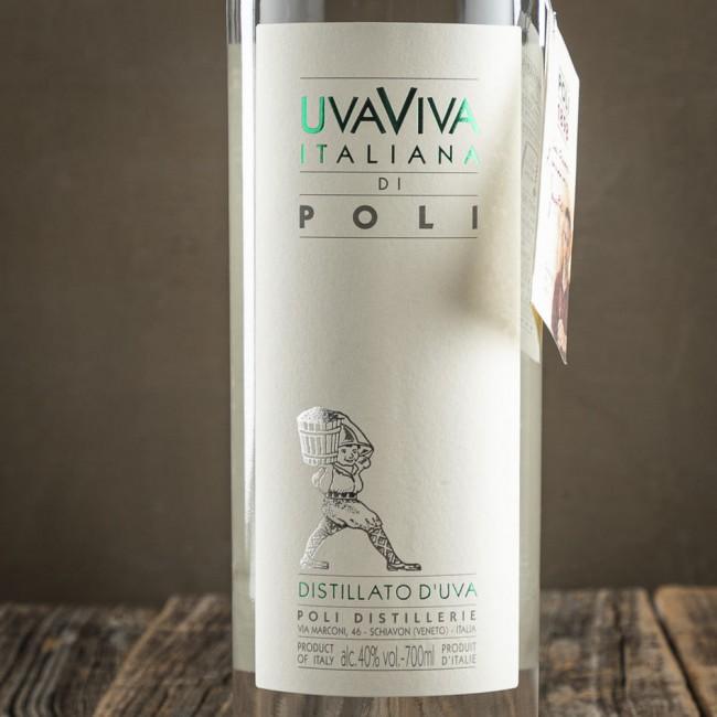 Grappa Uvaviva Italiana di Poli - Jacopo Poli