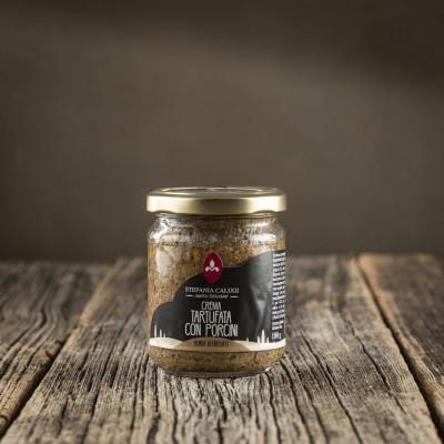 Crema Tartufata con Funghi Porcini - Stefania Calugi