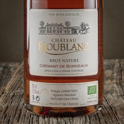 Cremant de Bordeaux  Rosé - Château Rioublanc