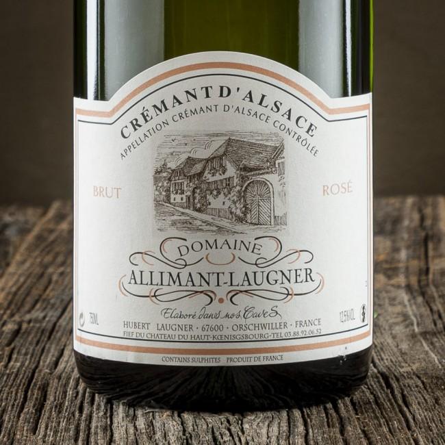 Cremant d'Alsace Brut Rosé - Domaine Allimant-Laugner