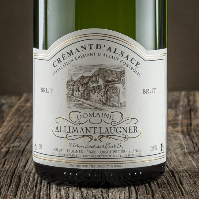 Crémant d'Alsace Brut - Domaine Allimant-Laugner