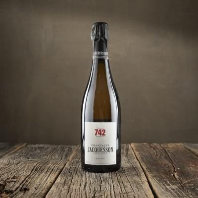 """Champagne Extra Brut """"Cuvée N° 742"""" - Maison Jacquesson"""