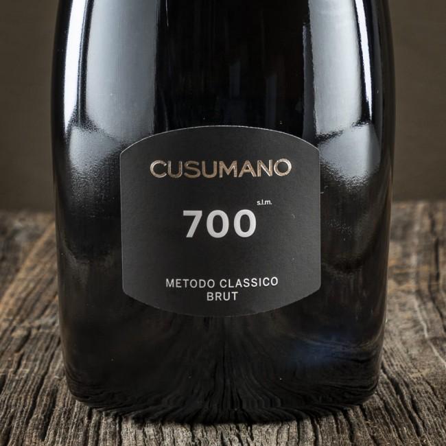 Spumante Metodo Classico 700 s.l.m. Brut - Cantina Cusumano