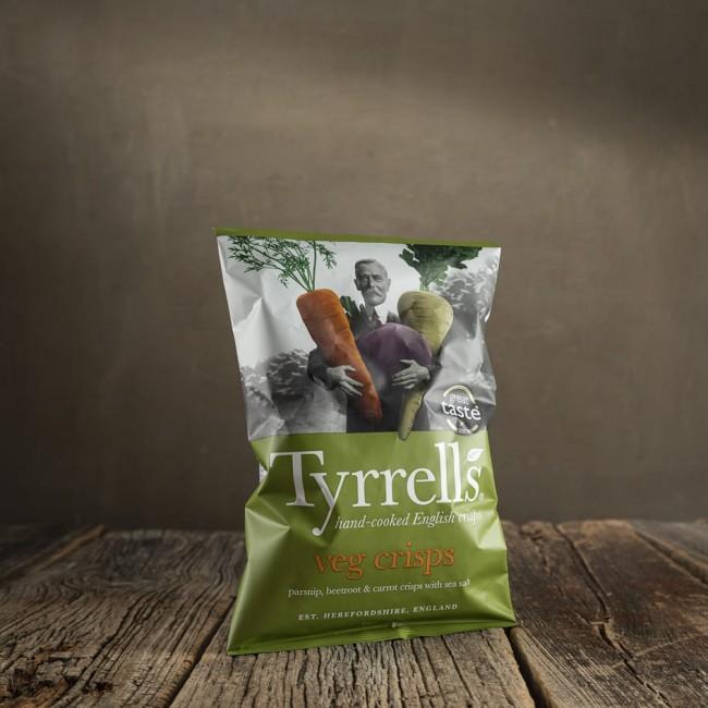 Tyrrells Veg & Potato Crisps