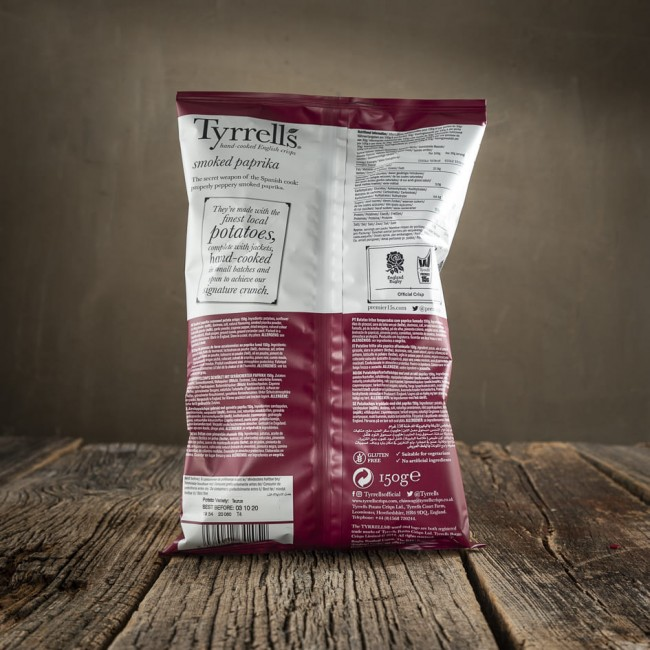 Tyrrells Smoked Paprika - patatine