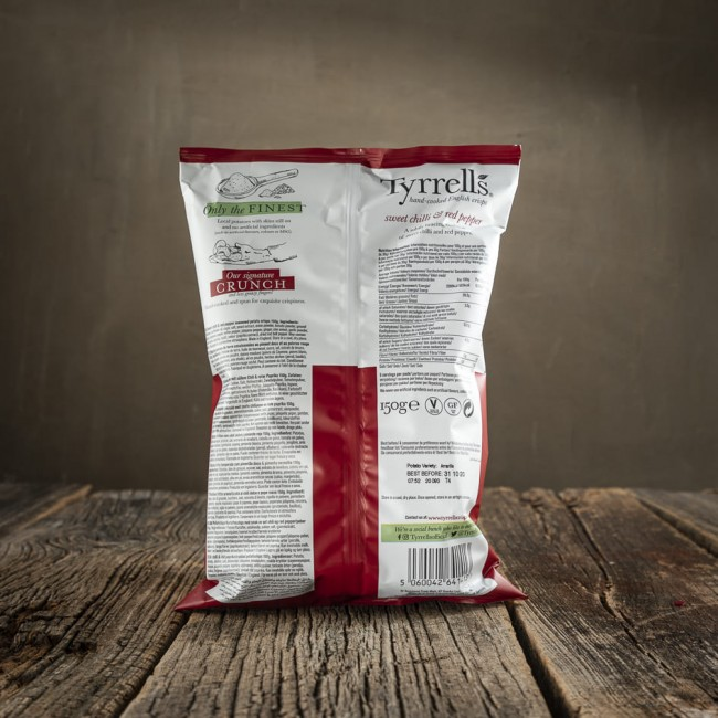 Tyrrells Sweet Chilli & Red Pepper - patatine
