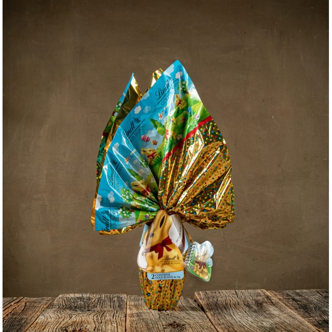 Uovo di Pasqua Gold Bunny Fiordilatte - Lindt