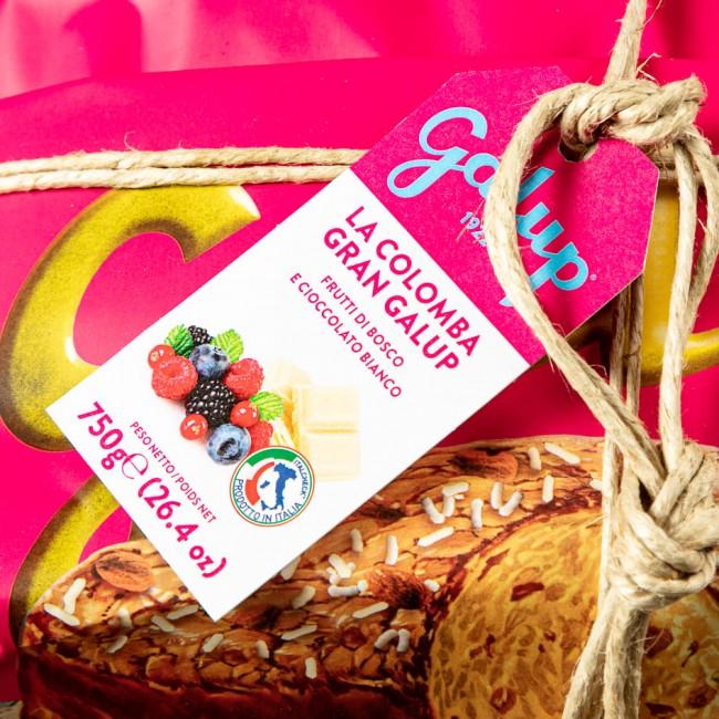 Colomba Gran Galup frutti di Bosco e Cioccolato - Galup