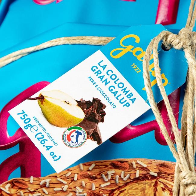Colomba Gran Galup Pere e Cioccolato - Galup