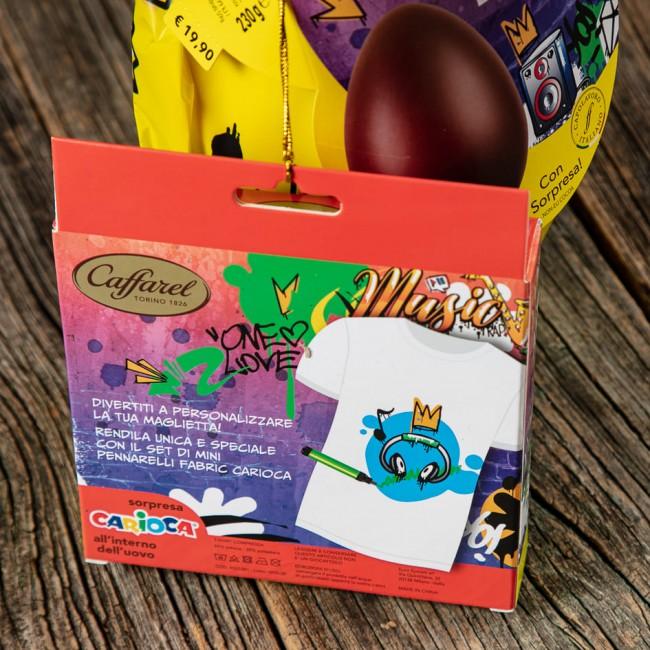 Uovo Pasqua Carioca al Latte Teen-Ager - Caffarel