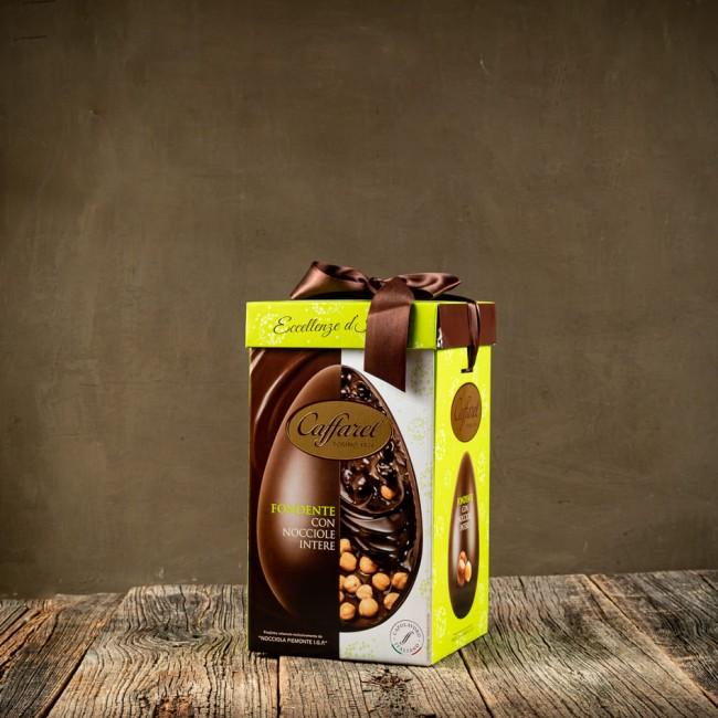 Uovo di Pasqua Fondente con Nocciole Intere - Caffarel