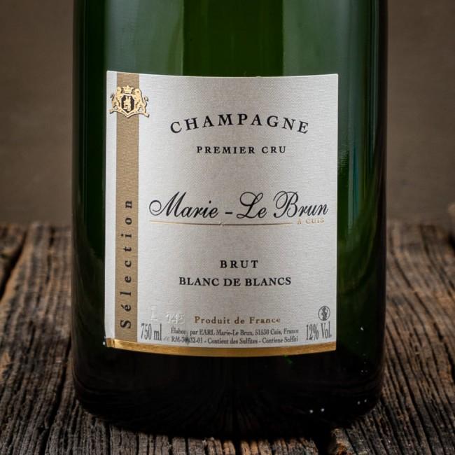 Champagne Premier Cru brut Blanc de Blanc - Marie Le Brun