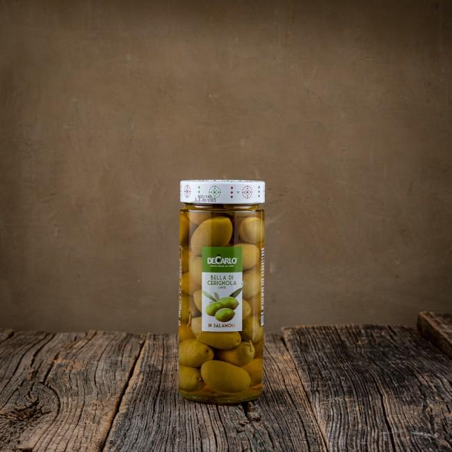 Olive Bella di Ceragnola - De Carlo