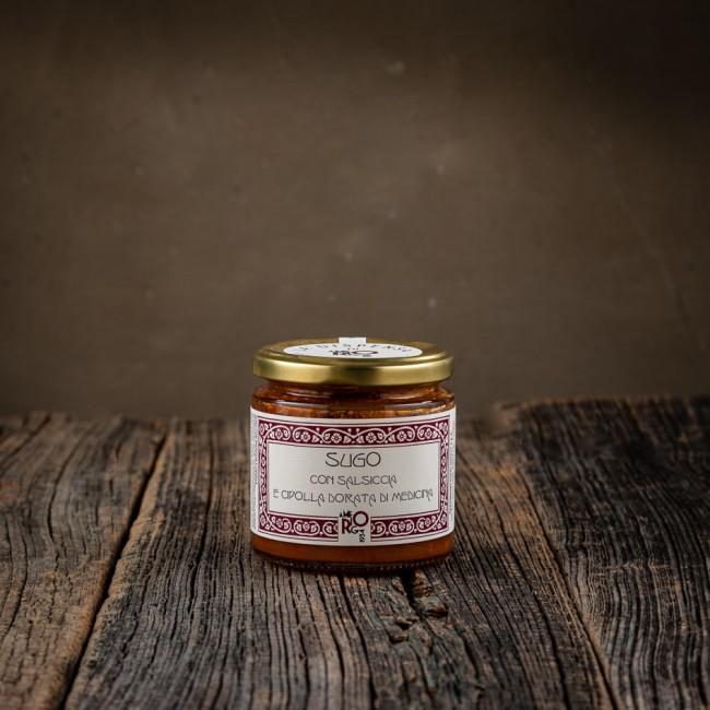 Sugo Salsiccia e Cipolla Dorata - La dispensa di Amerigo