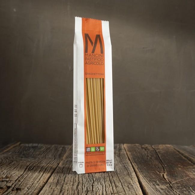 Spaghettoni - pasta a grano duro - Mancini Pastificio Agricolo