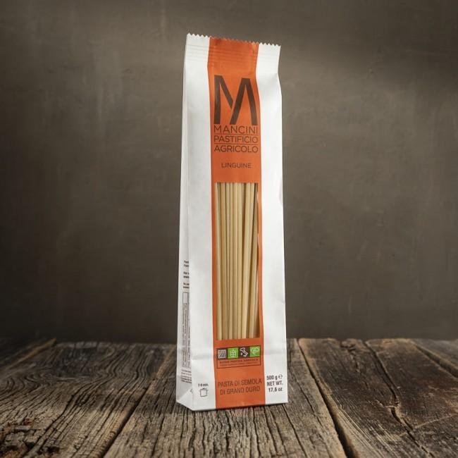 Linguine - pasta di semola di grano duro - Mancini Pastificio Agricolo