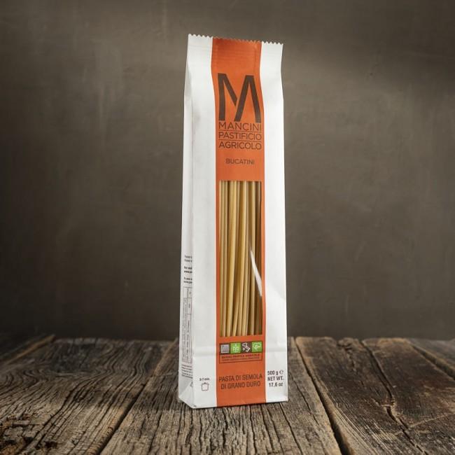 Bucatini pasta di semola di grano duro - Mancini Pastificio Agricolo