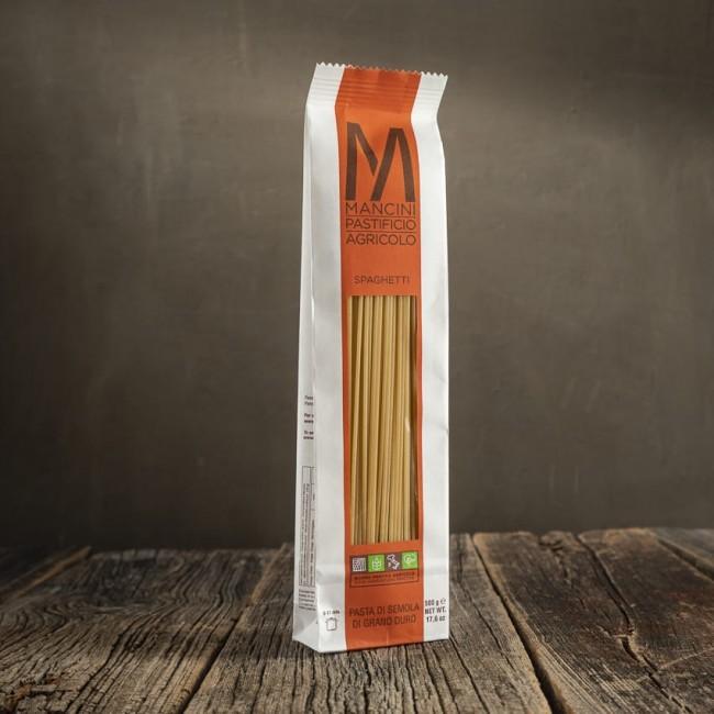 Spaghetti - pasta di semola di grano duro  - Mancini Pastificio Agricolo
