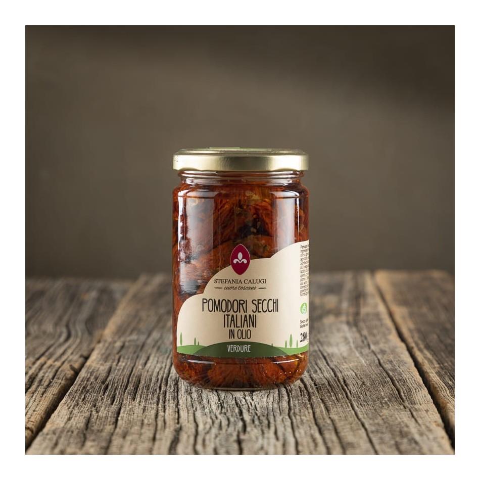 Pomodori Secchi Italiani in Olio - Stefania Calugi
