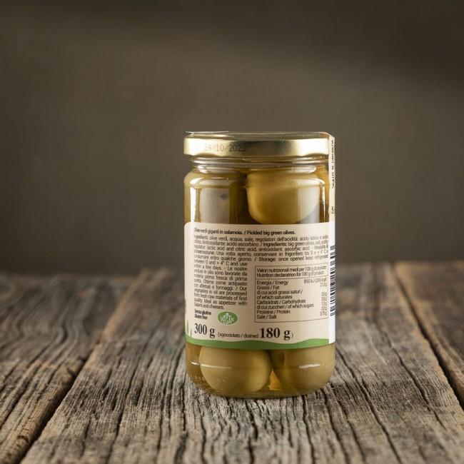 Olive Verdi Giganti in Salamoia - Stefania Calugi