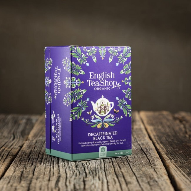 Decaffeinate Black Tea - English Tea Shop