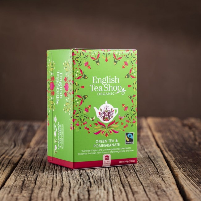Green Tea Pomegranate - English Tea Shop