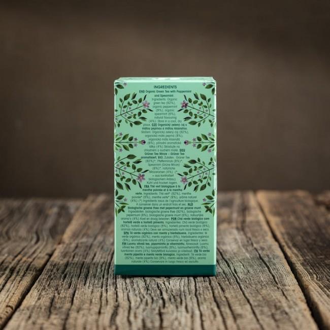 Mint Green Tea - English Tea Shop