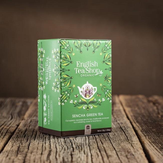 Sencha Green Tea - English Tea Shop