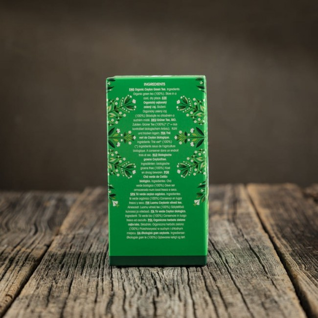 Pure Green Tea - English Tea Shop